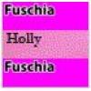 11 Fuschia Body / Holly Sleeves & Sides / Fuschia Trim