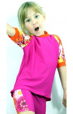 Children Sun Protection Shirt  (Rashie) available long sleeved